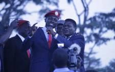 Musician-turned-lawmaker Robert Kyagulanyi (centre). Picture: @www.bobiwine.ug/Facebook.com