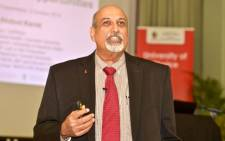 Infectious disease specialist Professor Salim Abdool Karim. Picture: @UKZN/Twitter.