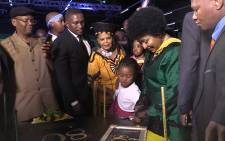 ANC women's league honoured struggle hero Winnie Madikizela-Mandela.Picture: Kgothatso Mogale/EWN