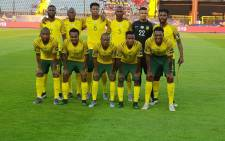 Bafana Bafana members pictured at their 2019 Africa Cup of Nations games against Morocco on 1 July 2019. Picture: @BafanaBafana/Twitter.