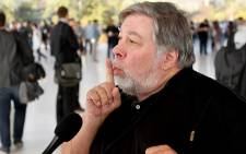 FILE: Apple co-founder Steve Wozniak. Picture: AFP