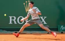 Milos Raonic. Picture: AFP