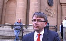AfriForum's Willie Spies. Picture: EWN