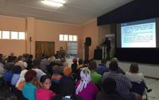 Science and Tech Department conducting community meetings in Northern Cape ahead of policy amendments relating to SKA. Picture: Natalie Malgas/EWN.