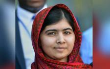 The joint 2014 Nobel Peace prize winner Malala Yousafzai. Picture: AFP