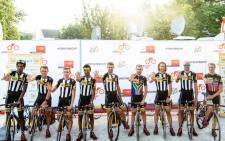 Nine riders of team MTN Qhubeka who will take part in the Tour de France. Picture: teammtnqhubeka.com.