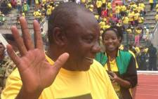 FILE: ANC deputy president Cyril Ramaphosa says his party will ensure the construction of 3,000 new homes in Philippi. Picture: Lesego Ngobeni/EWN.