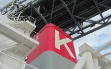 The logo of Kawasaki K-line. Picture: Supplied.