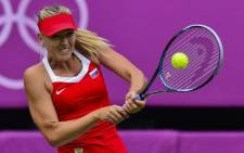 Maria Sharapova continued to carve through the Australian Open draw with ruthless efficiency on 20 January 2012. Picture: AFP
