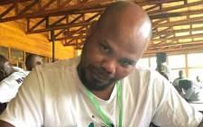 Marikana activist Napoleon Webster. Picture: @F4S_Delivery/Twitter.
