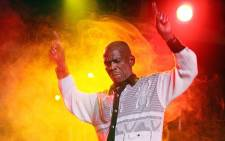 Ray Phiri of Sitmela performs on stage during the Standard Bank Joy of Jazz 2007 on 25 August 2007.  Picture: Gallo Images
