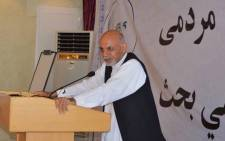 Former Afghan finance minister Ashraf Ghani was named president-elect on 21 September 2014. Picture: Facebook.com.