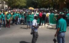 Amcu's strike has cost the platinum sector R13 billion since workers downed tools in January. Picture: Gia Nicolaides/EWN.
