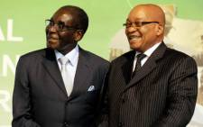 Zimbabwean President Robert Mugabe and President Jacob Zuma. Picture: GCIS