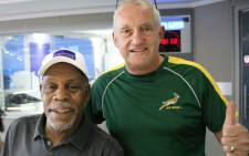 Danny Glover spoke to 702's John Robbie about the filming of his latest movie in Africa. Picture: @Radio702 via Twitter.