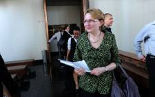Democratic Alliance leader Helen Zille leaves the Johannesburg Constitutional Court on Friday, 5 October 2012 following a ruling that National Director of Public Prosecutions Menzi Simelance's appointment was unconstitutional. Picture: Sapa.