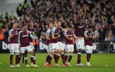 West Ham defeated Manchester City 5-3 following a penalty shootout in their English League Cup match on 27 October 2021. Picture: @WestHam/Twitter