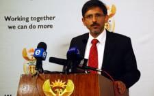 FILE: Economic Development Minister Ebrahim Patel. Picture: GCIS