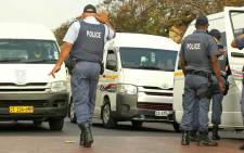 Operation Fiela moves in to quell Langa taxi violence after a shooting incident left two taxi drivers dead and nine commuters injured. Picture: SAPS.