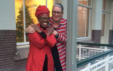 Reverend Canon Mpho Tutu wed Professor Marceline Furth in the Netherlands. Picture: Desmond & Leah Tutu Legacy Foundation.