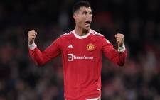 Cristiano Ronaldo celebrates a goal during a match that saw Manchester United beating Villarreal 2-1 on 29 September 2021. Picture: @ManUtd/Twitter.