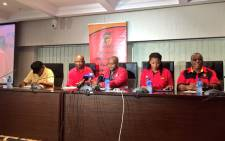 The Congress of South African Trade Unions held its post-CEC briefing on Thursday, 25 February 2016. Picture: Emily Corke/EWN.