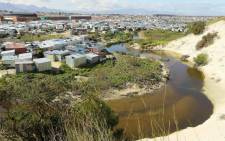 The township of Mfuleni in Cape Town. Picture: @SAPoliceService/Twitter