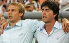 Current US coach Jurgen Klinsmann and German coach Joachim Loew during their time together at the German national team. Picture: Facebook.com