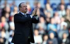 Newcastle United's Spanish manager Rafa Benitez. Picture: AFP.