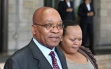 FILE: President Jacob Zuma and his wife Nompumelelo Ntuli-Zuma. Picture: GCIS.