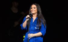 Demi Lovato. Picture: AFP