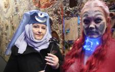 'Game of Thrones' fans ahead of the screening of the first episode of the final season at Hyde Park Corner Nu Metro Cinema on 15 April 2019. Picture: Supplied