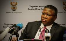 Sport Minister Fikile Mbalula has hit back saying transformation in sport is not 'a race question'. Picture: Thomas Holder/EWN.