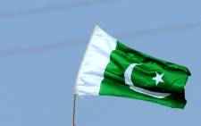 FILE: Pakistan flag. Picture: AFP.