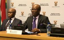 Treasury's Director-General Dondo Mogajane. Picture: @SAgovnews/Twitter