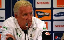 FILE:Coach Gordon Igesund addresses journalists on 1 February 2013, a day before Bafana Bafana's Afcon quarterfinal clash against Mali. Picture: Aletta Gardner/EWN