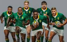 A rendering of the new Springbok rugby jersey. Picture: @Springboks/Twitter