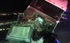 Twelve victims died in a truck accident in Vereeniging on Thursday, 2 August 2012. Picture: Rahima Essop/Eyewitness News