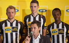 Some of the team members of the MTN-Qhubeka who will take part in the 2015 Tour de France event. Picture: Facebook.