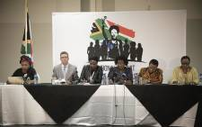 Government held a media briefing on the outcomes of the 2-day summit on gender-based violence in Centurion on Friday, 2 November 2018. Picture: Sethembiso Zulu/EWN