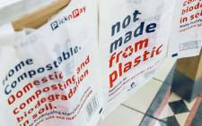 Pick n Pay has become the first South African retailer to trial compostable bags. Picture: Facebook.com.