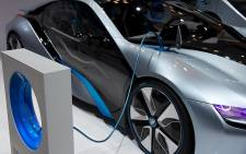 FILE: BMW's electric car. Picture: Supplied.