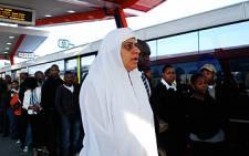 FILE: Member of the Mayoral Committee for Transport Rehana Moosajee at Thokoza Park station. Picture: Taurai Maduna/Eyewitness News
