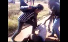 EWN is in possession of footage of the suspected cellphone thief being beaten to death. Picture: EWN