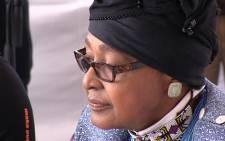 Winnie Madikizela-Mandela. Picture: Reinart Toerien/EWN.