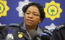 North West Police Commissioner Lt General Zukiswa Mbombo. Picture: Taurai Maduna/Eyewitness News.
