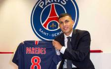 Paris Saint-Germain signed Argentine international Leandro Paredes from Zenit Saint Petersburg. Picture: @PSG_English/Twitter.
