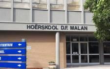 DF Malan High School in Bellville, Western Cape. Picture: wikipedia.org