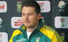 Proteas captain Graeme Smith. Picture: EWN