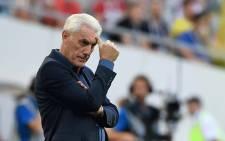 Cameroon's Belgian coach Hugo Broos. Picture: AFP